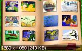 В гостях у сказки. Дональд Биссет. 12 интерактивных диафильмов на русском и английском языках (2003)